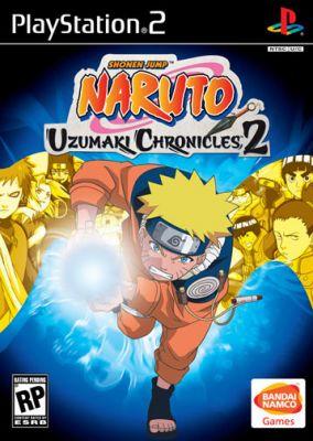 Copertina del gioco Naruto: Uzumaki Chronicles 2 per PlayStation 2
