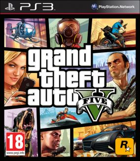 Copertina del gioco Grand Theft Auto V - GTA 5 per PlayStation 3