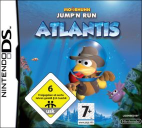 Immagine della copertina del gioco Moorhuhn: Atlantis per Nintendo DS