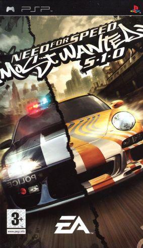 Immagine della copertina del gioco Need for Speed Most Wanted 5-1-0 per PlayStation PSP