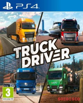 Copertina del gioco Truck Driver per PlayStation 4