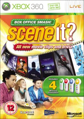 Immagine della copertina del gioco Scene It? Campione d'Incassi per Xbox 360