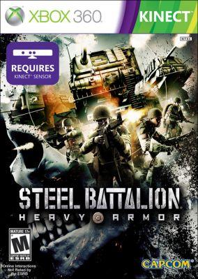 Copertina del gioco Steel Battalion: Heavy Armor per Xbox 360