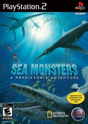 Copertina del gioco Sea Monsters: A Prehistoric Adventure per PlayStation 2