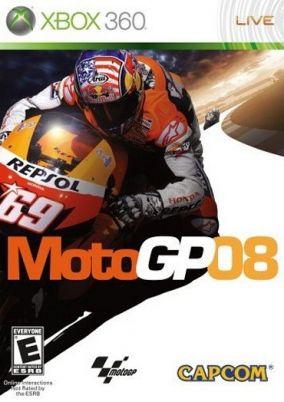 Copertina del gioco MotoGP 08 per Xbox 360