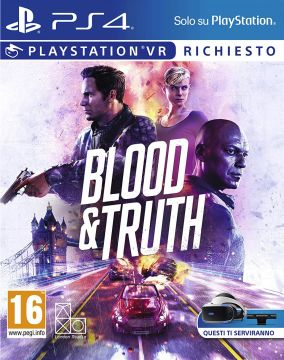 Copertina del gioco Blood & Truth per PlayStation 4