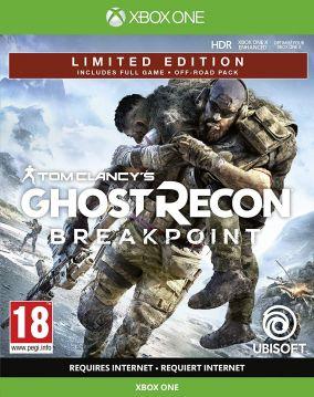 Immagine della copertina del gioco Tom Clancy's Ghost Recon Breakpoint per Xbox One