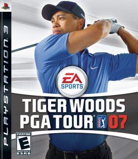 Copertina del gioco Tiger Woods PGA Tour 07 per PlayStation 3