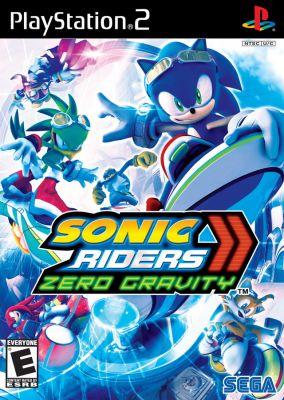 Copertina del gioco Sonic Riders: Zero Gravity per PlayStation 2
