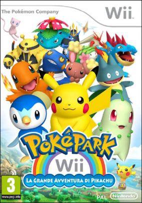 Immagine della copertina del gioco PokePark WII: La Grande Avventura di Pikachu per Nintendo Wii