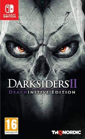 Copertina del gioco Darksiders II: Deathinitive Edition per Nintendo Switch