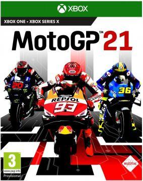 Copertina del gioco MotoGP 21 per Xbox One