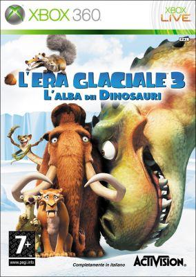 Copertina del gioco L'Era Glaciale 3: L'alba dei Dinosauri per Xbox 360