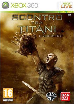 Copertina del gioco Scontro tra titani - il videogioco per Xbox 360