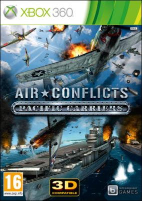 Copertina del gioco Air Conflicts Pacific Carriers per Xbox 360