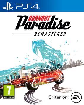 Copertina del gioco Burnout Paradise Remastered per Playstation 4