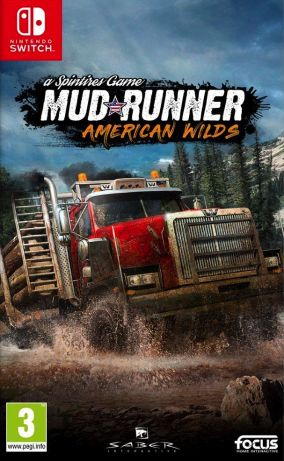 Copertina del gioco Spintires: MudRunner - American Wilds Edition per Nintendo Switch