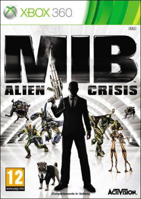 Copertina del gioco Men in Black: Alien Crisis per Xbox 360