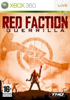 Copertina del gioco Red Faction: Guerrilla per Xbox 360