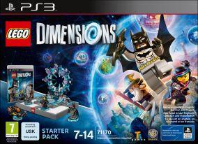 Immagine della copertina del gioco LEGO Dimensions per PlayStation 3