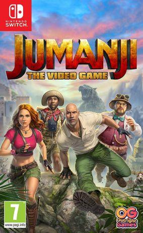 Copertina del gioco Jumanji: Il Videogioco per Nintendo Switch