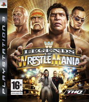 Copertina del gioco WWE Legends of WrestleMania per PlayStation 3