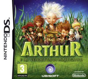 Immagine della copertina del gioco Arthur - La vendetta di Maltazard per Nintendo DS