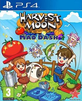 Copertina del gioco Harvest Moon: Mad Dash per PlayStation 4