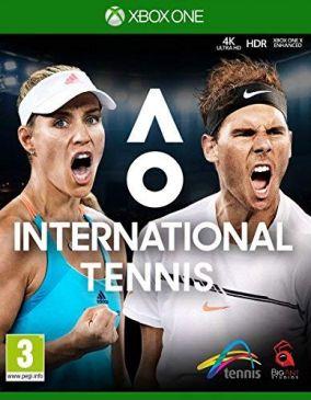 Immagine della copertina del gioco AO Tennis 2 per Xbox One
