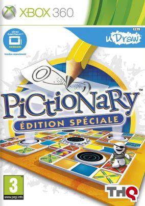 Copertina del gioco Pictionary per Xbox 360