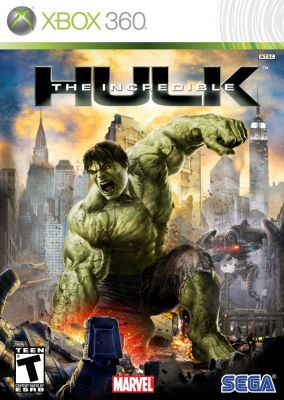 Copertina del gioco L'Incredibile Hulk per Xbox 360