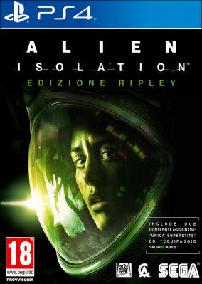 Immagine della copertina del gioco Alien: Isolation per PlayStation 4