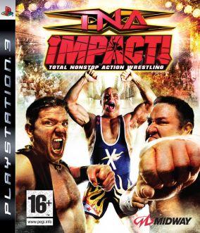 Copertina del gioco TNA iMPACT! per PlayStation 3