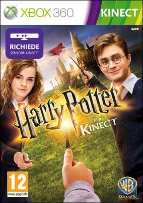 Immagine della copertina del gioco Harry Potter Kinect per Xbox 360