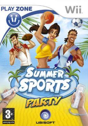 Immagine della copertina del gioco Summer Sports Party per Nintendo Wii