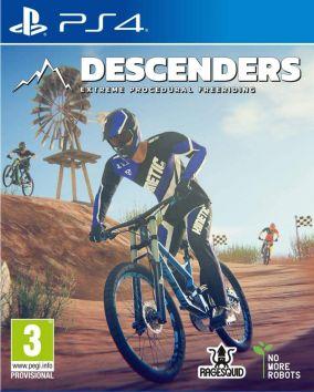 Copertina del gioco Descenders per PlayStation 4