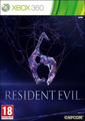Immagine della copertina del gioco Resident Evil 6 per Xbox 360