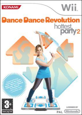 Immagine della copertina del gioco Dance Dance Revolution Hottest Party 2 per Nintendo Wii