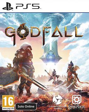 Copertina del gioco GodFall per PlayStation 5