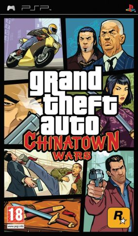 Immagine della copertina del gioco Grand Theft Auto: Chinatown Wars per PlayStation PSP