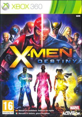 Copertina del gioco X-Men: Destiny per Xbox 360