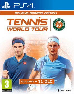 Copertina del gioco Tennis World Tour - Roland-Garros Edition per PlayStation 4