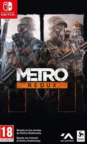 Copertina del gioco Metro Redux per Nintendo Switch