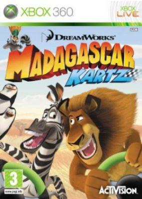 Copertina del gioco Madagascar Kartz per Xbox 360