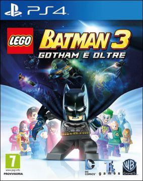 Immagine della copertina del gioco LEGO Batman 3: Gotham e Oltre per PlayStation 4