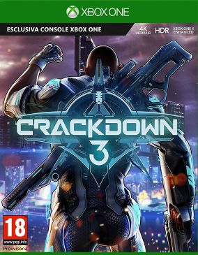 Copertina del gioco Crackdown 3 per Xbox One