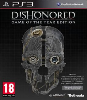 Copertina del gioco Dishonored: Game of the Year per PlayStation 3