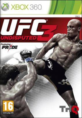 Copertina del gioco UFC Undisputed 3 per Xbox 360