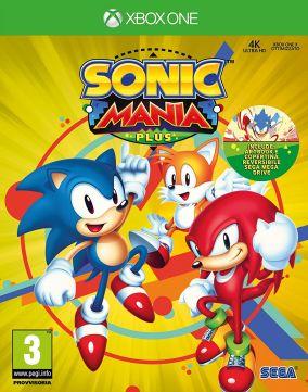 Immagine della copertina del gioco Sonic Mania Plus per Xbox One