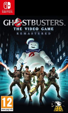 Copertina del gioco GhostBusters: The Videogame Remastered per Nintendo Switch